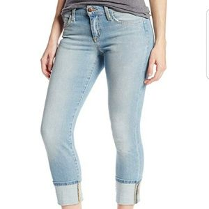 Joe's Jeans Nayeli Cuffed Cropped Skinny Jeans